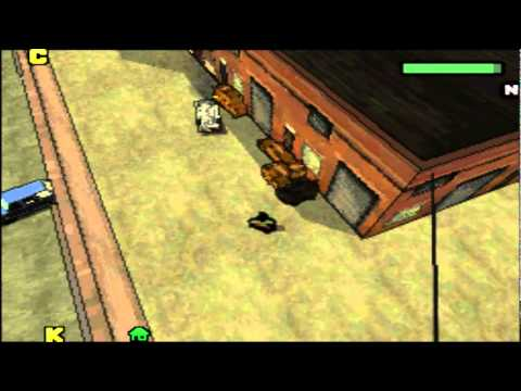 Grand theft auto Chinatown wars DS gameplay