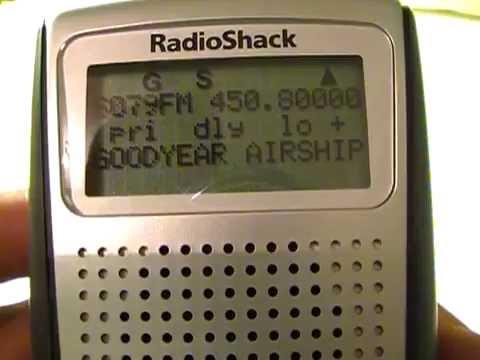 Radio Shack Pro-164 Scanning Receiver