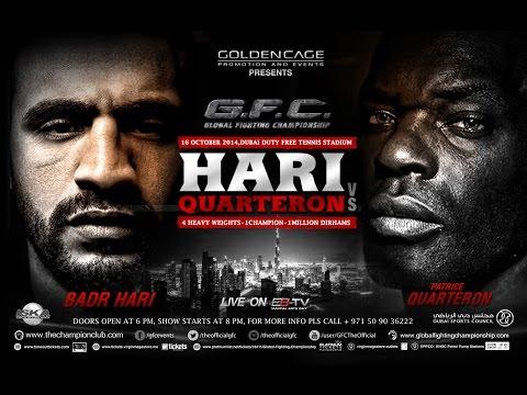 GFC 4 Dubai Promo / Badr Hari VS Patrice Quarteron