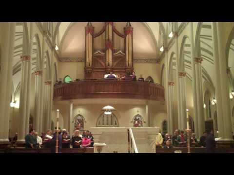 Saint Peter's Catholic Church: Columbia, South Carolina USA Arranged by Mark Husey, Organist III/38 Peragallo pipe organ http://www.peragallo.com/pipe-organs...