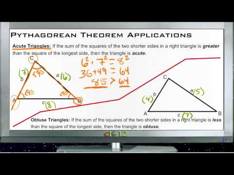 Applications of the Pythagorean Theorem Principles - Basic