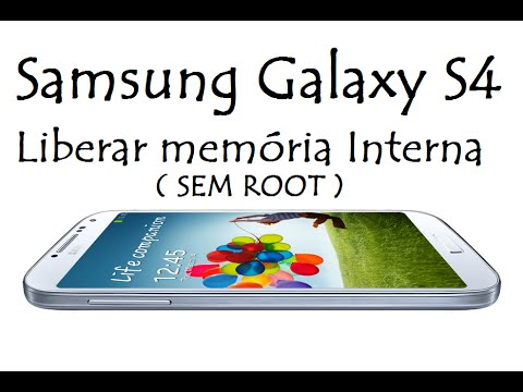 Galaxy S4 / Como Liberar memória Interna ( SEM ROOT ) / DavidTecNew / PT BR