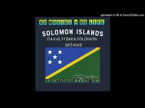 Fiakal x Baka Solomon - Distance (Solomon Islands Music  2018)