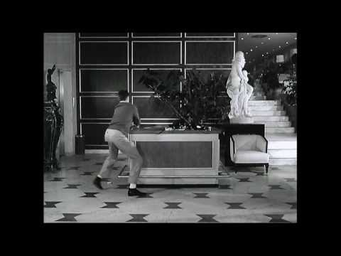 Jerry Lewis rehearsal for The Bellboy