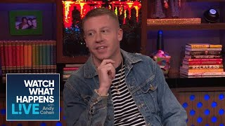 Macklemore's Naked Justin Bieber Painting | WWHL