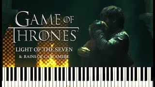 For Cersei - Game of Thrones - Ramin Djawadi | Piano Cover (Midi+ Sheet)