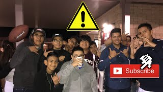 10/26 Vlog HOMECOMING GAME GONE RIGHT?! FANS GET A SHOUTOUT?!