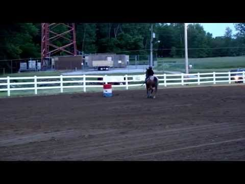"Lane Robinson and ""Thumper"" - Barrel Racing - Upper Sandusky, OH"