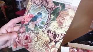 Napkin to book paper tutorial