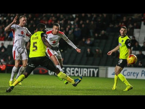HIGHLIGHTS: MK Dons 7-0 Oldham Athletic