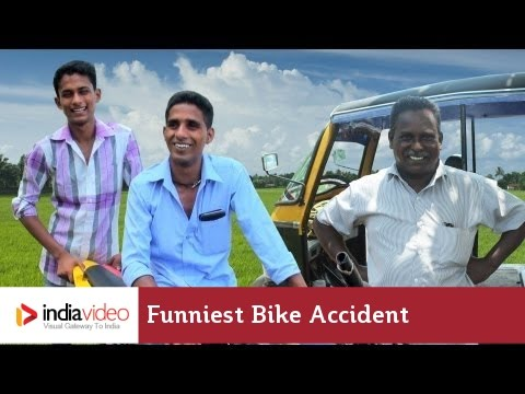 Meet the survivors of the funniest bike accident