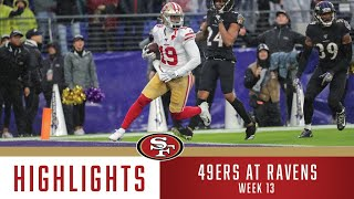 49ers at Ravens Highlights