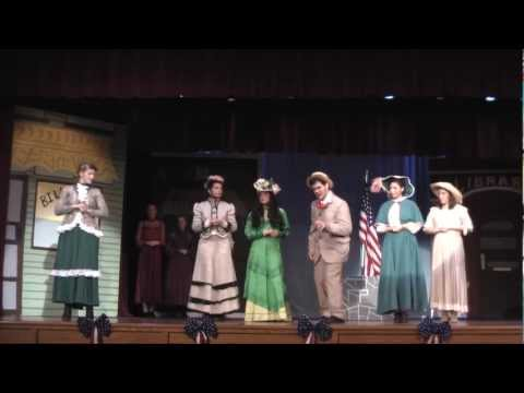 The Music Man - Sadder But Wiser - Pick-a-little - S-VE High School March 2012