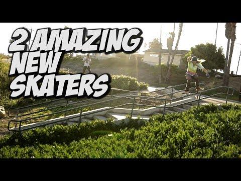 2 UNBELIEVABLE NEW SKATEBOARDERS !!! ANDY ANDERSON & XAVIER ALFORD   NKA VIDS
