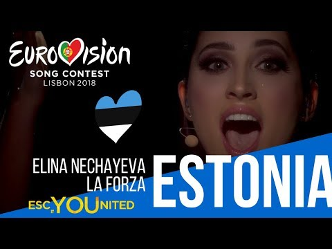 Estonia: Elina Nechayeva - La Forza (Reaction) Eurovision 2018