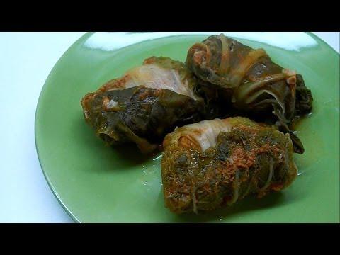 рецепт голубцов из пекинской капусты в духовке