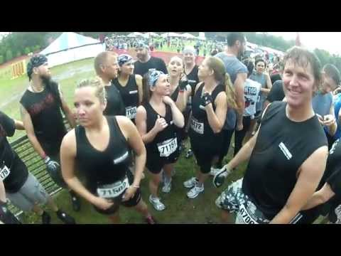 Warrior Dash Live Oak FL March 31st 2012 11 am wave - Full Race - 3 camera angles