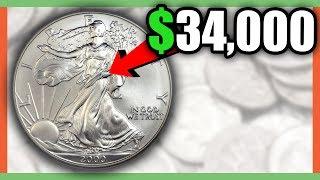 RARE SILVER EAGLE COINS WORTH MONEY - SILVER COINS VALUE!!