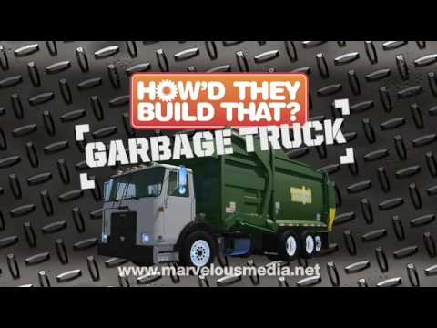 How'd They Build That? Garbage Truck DVD Video