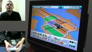 Playing Sim City 2000 for the SNES