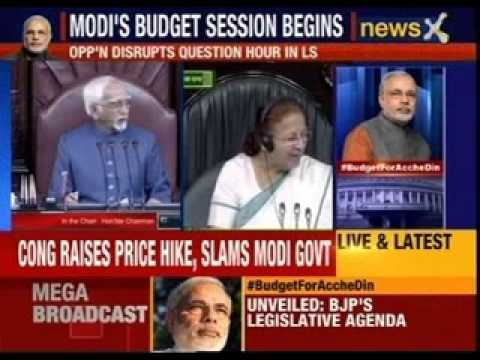 Narendra Modi government's budget session begins