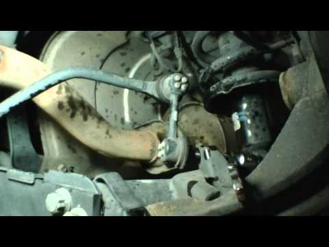 Replace swaybar link on Honda Civic