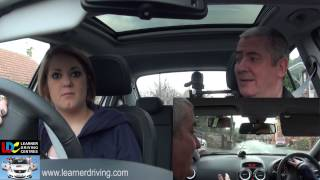 Claire's 17th driving lesson - Progressive driving, dual carriageways and emergency stops