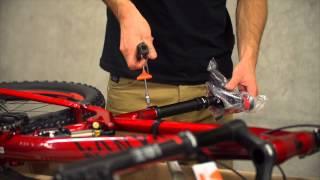 Canyon Service - Mountainbike auspacken und aufbauen