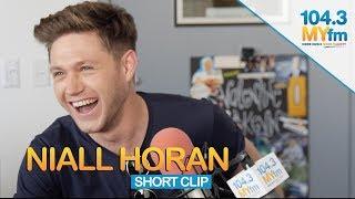 Niall Horan Talks