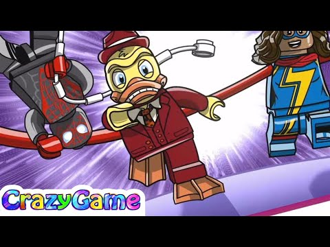 LEGO Marvel Super Heroes 2 Gwenpool Mission #10 How to Unlock Gwenpool & Spider-Man (Miles Morales)