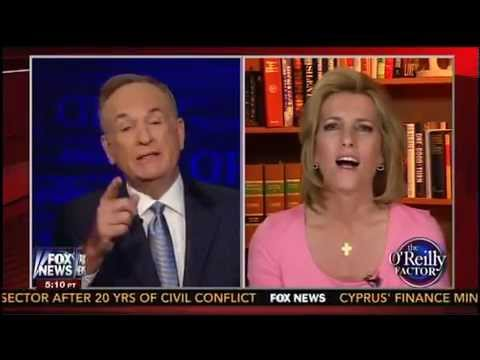 Bill O'Reilly Blows Up At Laura Ingraham in Epic Segment Over His 'Thump The Bible' Comments