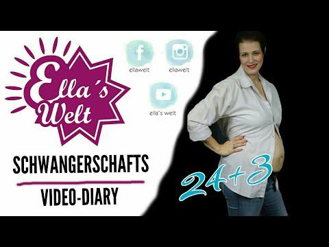Ella's Welt - Schwangerschaft Tagebuch Diary - 24+3