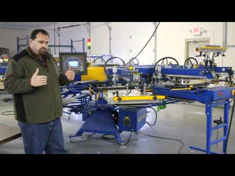 Calling All Dealers - Printex Automatic Screen Printing Equipment
