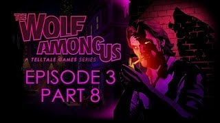The Wolf Among Us - Episode 3 Walkthrough - Choice Path 1 - Part 8 - Catching Crane [No Commentary]