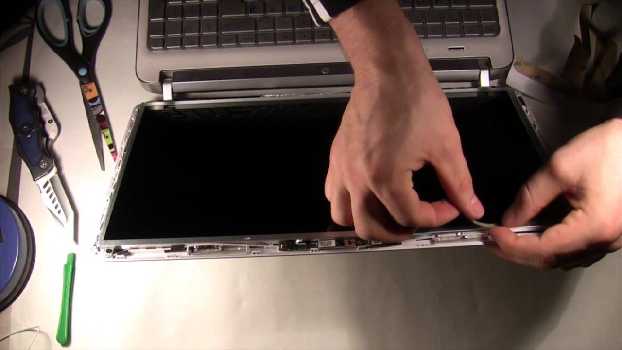 Замена монитора на ноутбуке hp pavilion g6 цена