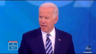 Joe Biden on willingness to testify in Trump impeachment: 'No one asked me to' | The View