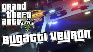GTA 5 - Where To Find The Bugatti Veyron - GTA 5 Easter Egg!