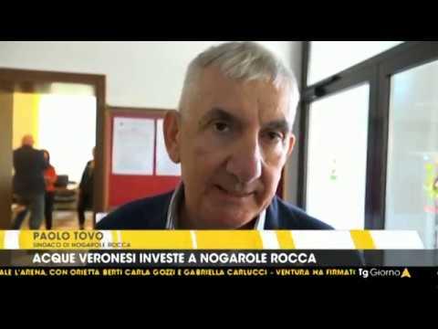 Servizio TG del 09.10.18 - Acque Veronesi riammoderna e potenzia le reti acquedottistiche a Nogarole Rocca