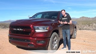 Review: 2019 RAM 1500 - The New Truck Benchmark!