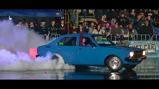LYNCHY V8 COROLLA AT BURNOUTS UNLEASHED 23.8.2014
