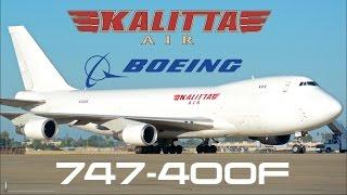 Kalitta Air Boeing 747-400F [HD]