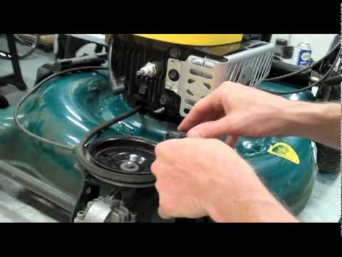 Fixing a front wheel drive Self-Propelled Lawnmower