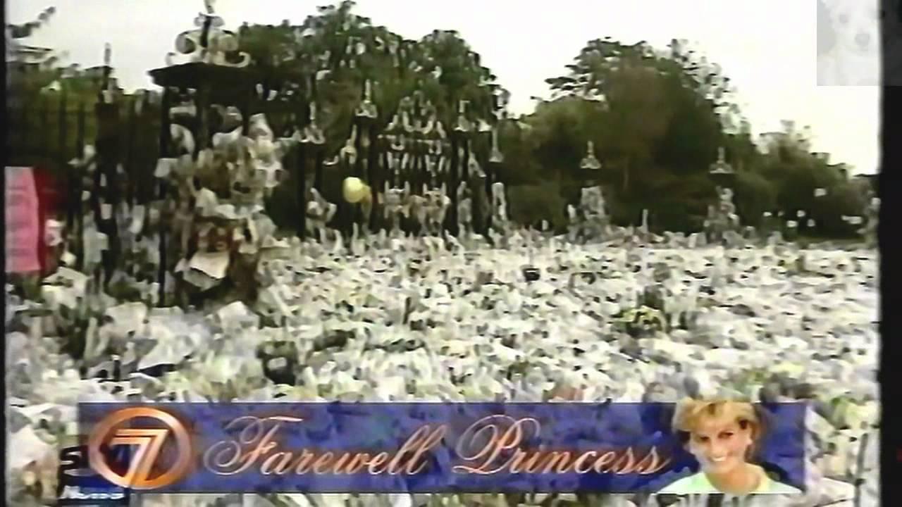 perth special news broadcast   princess diana funeral