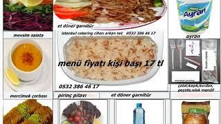 istanbul catering toplu yemek organizasyonu