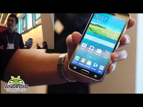 Samsung Galaxy S5 Fingerprint scanner hands-on / demo