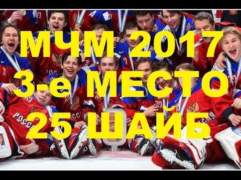 Все 25 голов сборной России по хоккею на МЧМ 2017
