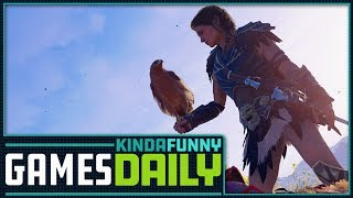 Play Assassin's Creed Odyssey in Google Chrome - Kinda Funny Games Daily 10.01.18