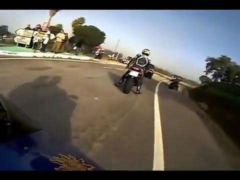 Impresionante Accidente De Motos Deportivas | Accidentes De Motos Lujosas