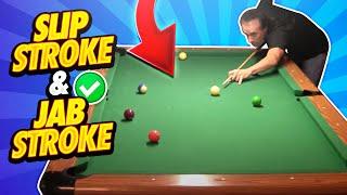 Pool Lessons - Slip Stroke & Jab Stroke