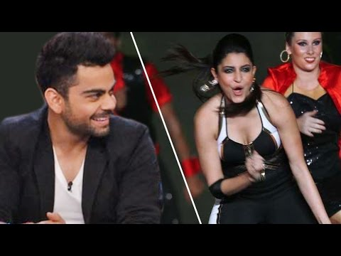 Virat Kohli ENJOYS Anushka Sharma's performance at IPL 8 Opening Ceremony